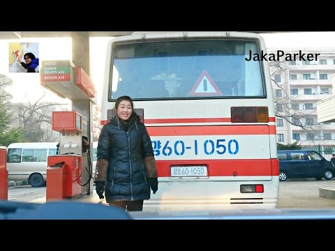 'The Beauty' of Petrol Station in Pyongyang, North Korea - Part 1
