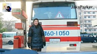 the beauty of petrol station in pyongyang north korea part 1