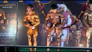 Pritam chougule Mr. Karnataka 2011
