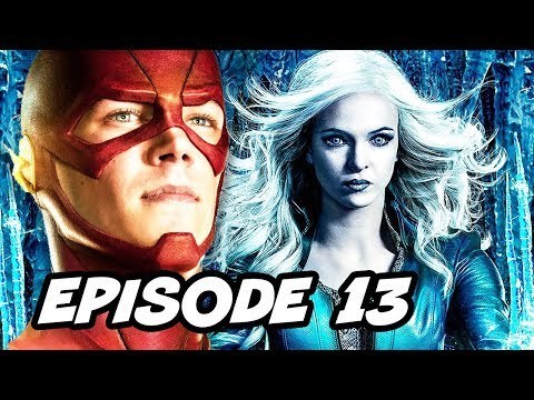 The Flash Season 2 Episode 13 - TOP 10 WTF and Easter Eggs