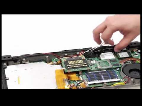 DELL Latitude 14 Rugged Extreme 7404 Disassembly Process