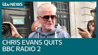 Chris Evans announces he's quitting Radio 2 live on air   ITV News