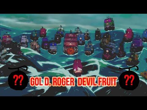 Gol D. Roger Devil Fruit Power