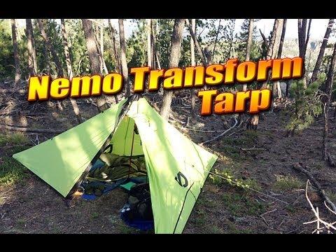 The Nemo Transform Tarp - Tent