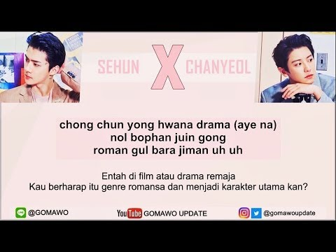 Easy Lyric CHANYEOL & SEHUN EXO - WE YOUNG by GOMAWO Indo Sub