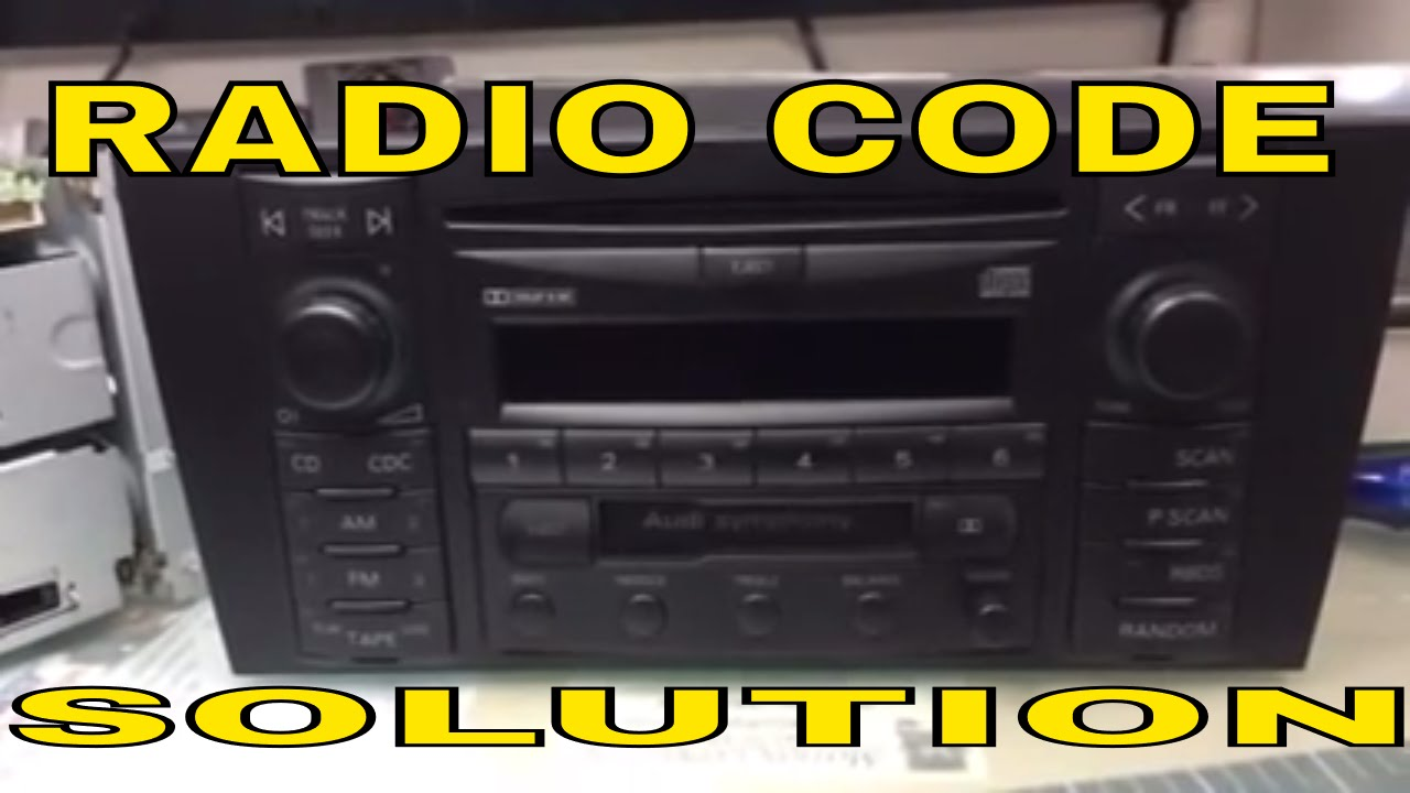 vw radio codes from serial number