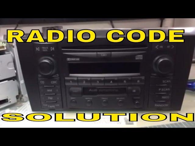 Official Audi Radio Code   Online Audi Car Radio Unlock Service
