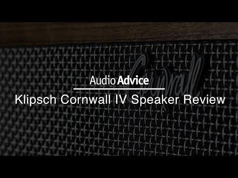BRAND NEW! Klipsch Cornwall IV Speaker Review