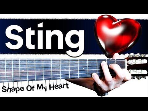 Sting - Shape of My Heart на Гитаре + РАЗБОР
