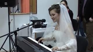 """Подарок любимому жениху от невесты. Песня """"Любовь настала"""""""
