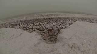 Insane Footage of Lake Superior in December: Lake Superior Aquaman (GoPro)