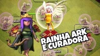 RAINHA ARQUEIRA E CURADORAS no CLASH OF CLANS!