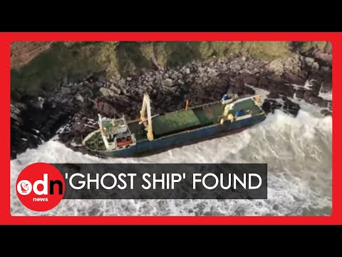 'Ghost Ship' Brought Ashore on Irish Coast by Storm Dennis