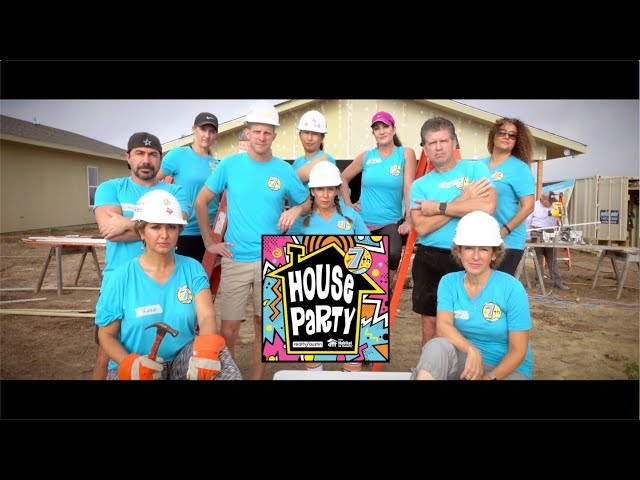 Realty Austin 7th Annual Habitat for Humanity Build - Drippin' in Finesse