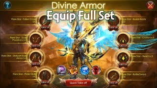 Equip Full Set Divine Armor (New LOD Content) | 3rd Anniversary Event | legacy of discord