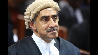 London based Counsel Qureshi, headed for tough task ahead of Judge Mwilu's case