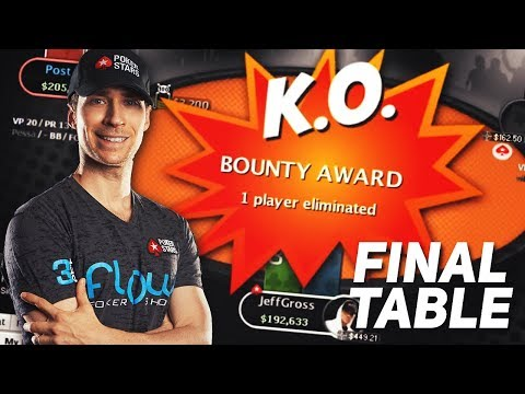 FINAL TABLE $215 Triple Threat 3-Max PKO Zoom! 229 entries $8,289 to 1st