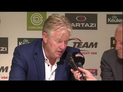 Interview na KSC Lokeren - Excel Mouscron met Peter Maes