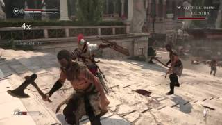 """Ryse Son of Rome """"Xbox One"""" Gameplay/Quality Test"""