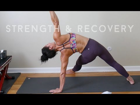 Strength + Recovery Workout  by Christine C and Julia