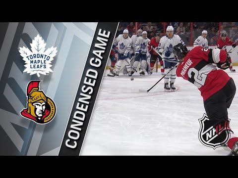 01/20/18 Condensed Game: Maple Leafs @ Senators