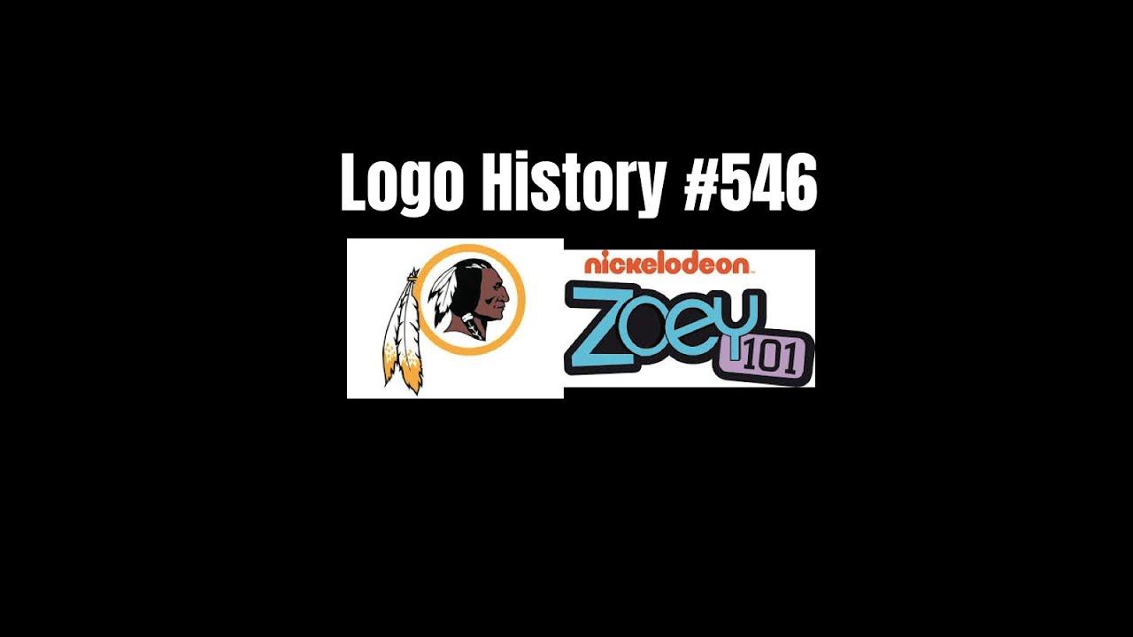 Logo History 546 Washington Redskins Zoey 101