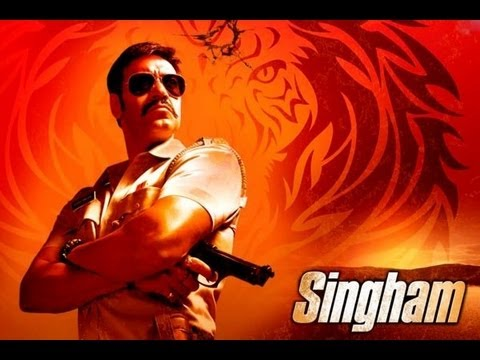 Singham title song full hd video feat ajay devgan youtube All hd song