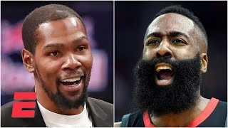 Stephen A. calls in to talk James Harden to the Nets   KJZ