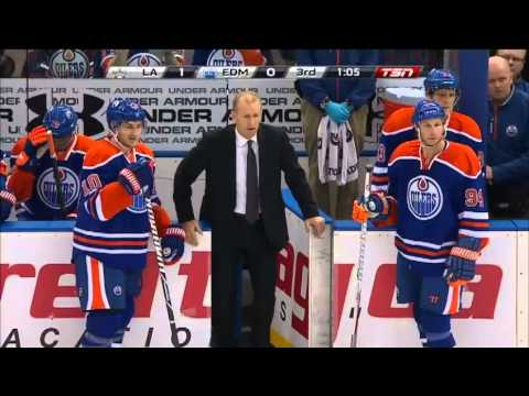 No goal, Oilers fans pissed.