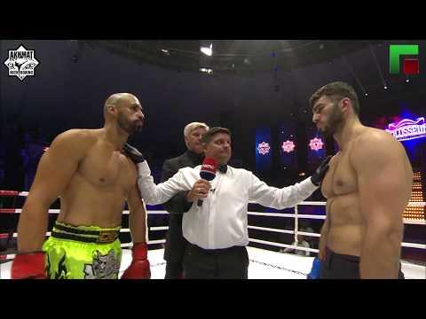 95 kg. Turpal Takaev (Russia) vs Bruno Susano (Portugal)