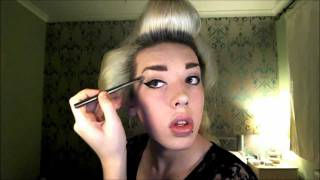 Classic 1950's  Inspired Makeup Tutorial Thumbnail
