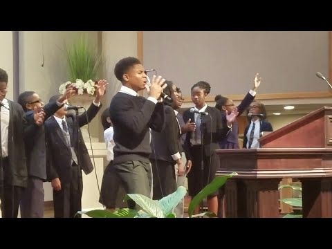 Caleb Alexander Carroll 14 yrs old singing All I Have to Give  Mali Music