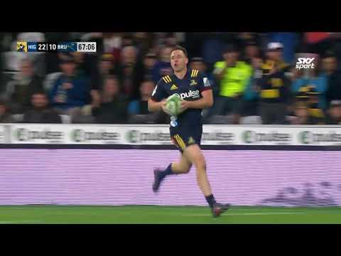HIGHLIGHTS: 2018 Super Rugby Week 9: Highlanders v Brumbies