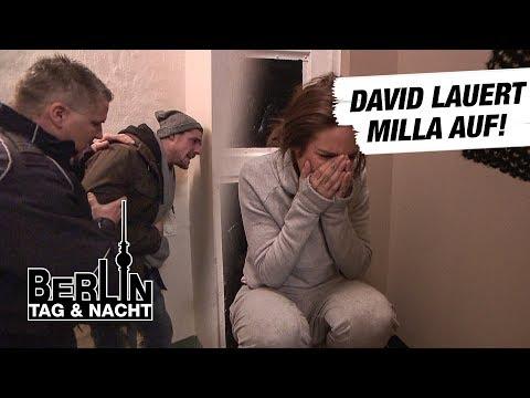Berlin - Tag & Nacht - David lauert Milla auf! #1667 - RTL II
