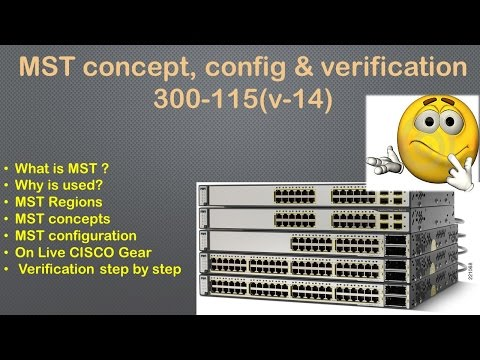MST concept, configuration & verification 300-115 (v-14)