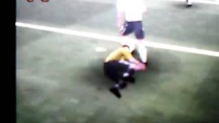 goal sbagliato a porta vuota (real football 2008  NDS) 3