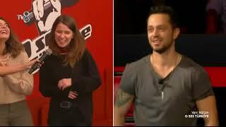 Beyaz'dan kahkahaya boğan jüri yorumu! | O Ses Türkiye