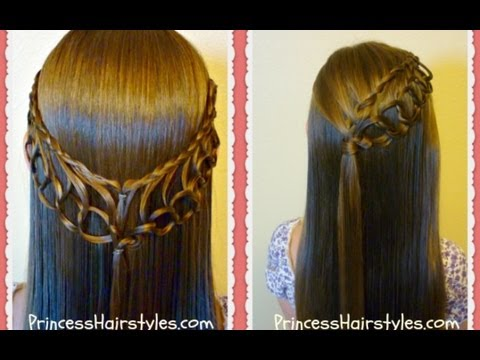 Latest Hair Do : Feather Chain Braid Hairstyles, Hair4myprincess - YouTube