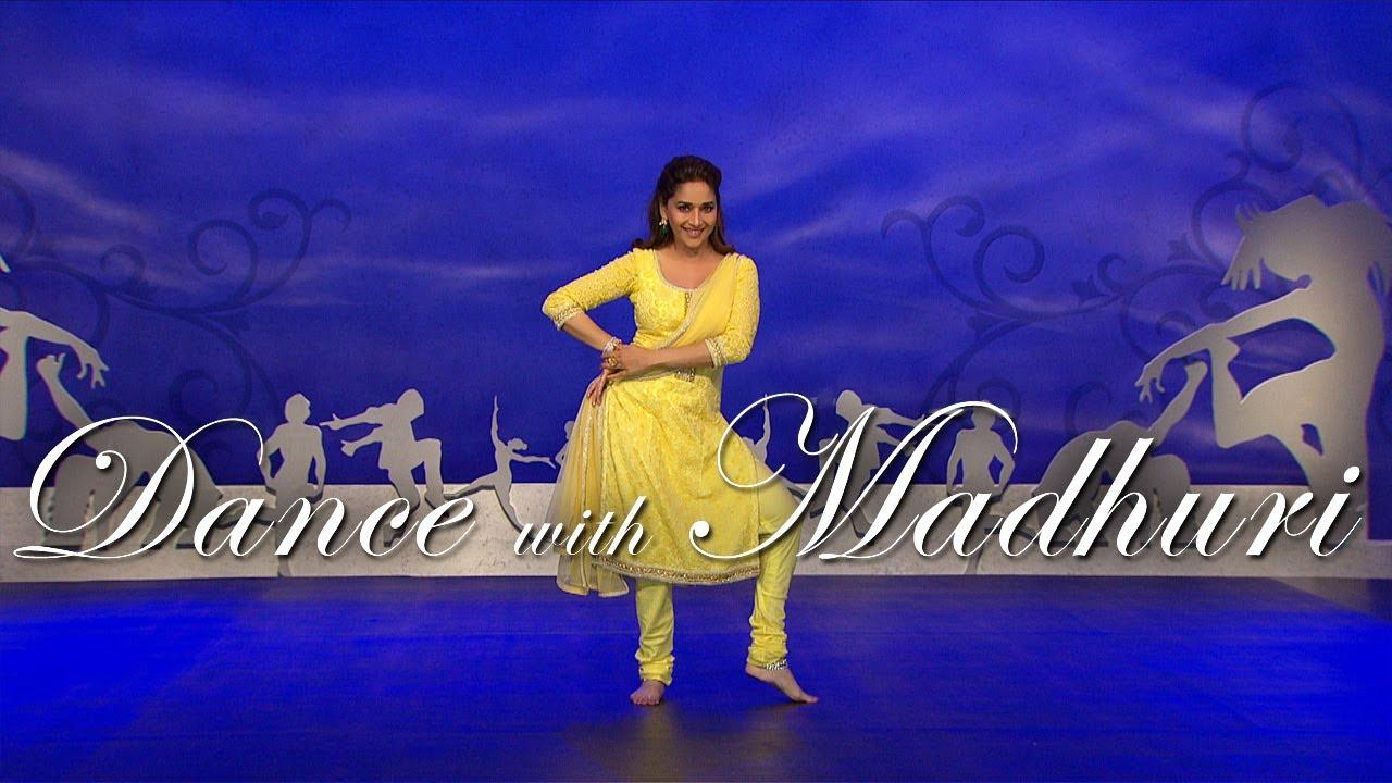 Madhuri dixit aaja nachle learn dance