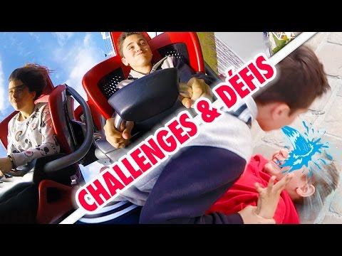 CHALLENGES & DÉFIS DANS UN PARC D'ATTRACTIONS - Lama Challenge à Nigloland 💦