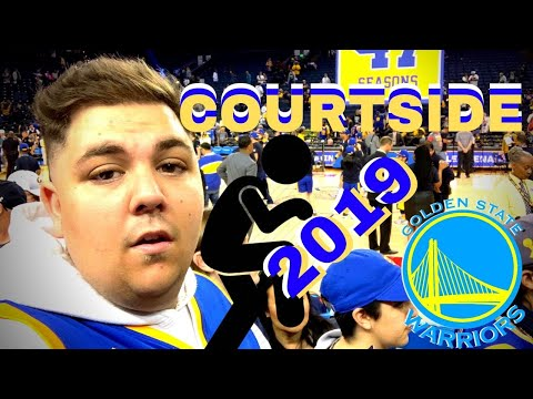 Golden State Warriors Fan Reveals Hack for Scoring Courtside Seats