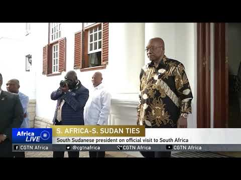 South Sudanese president on official visit to South Africa