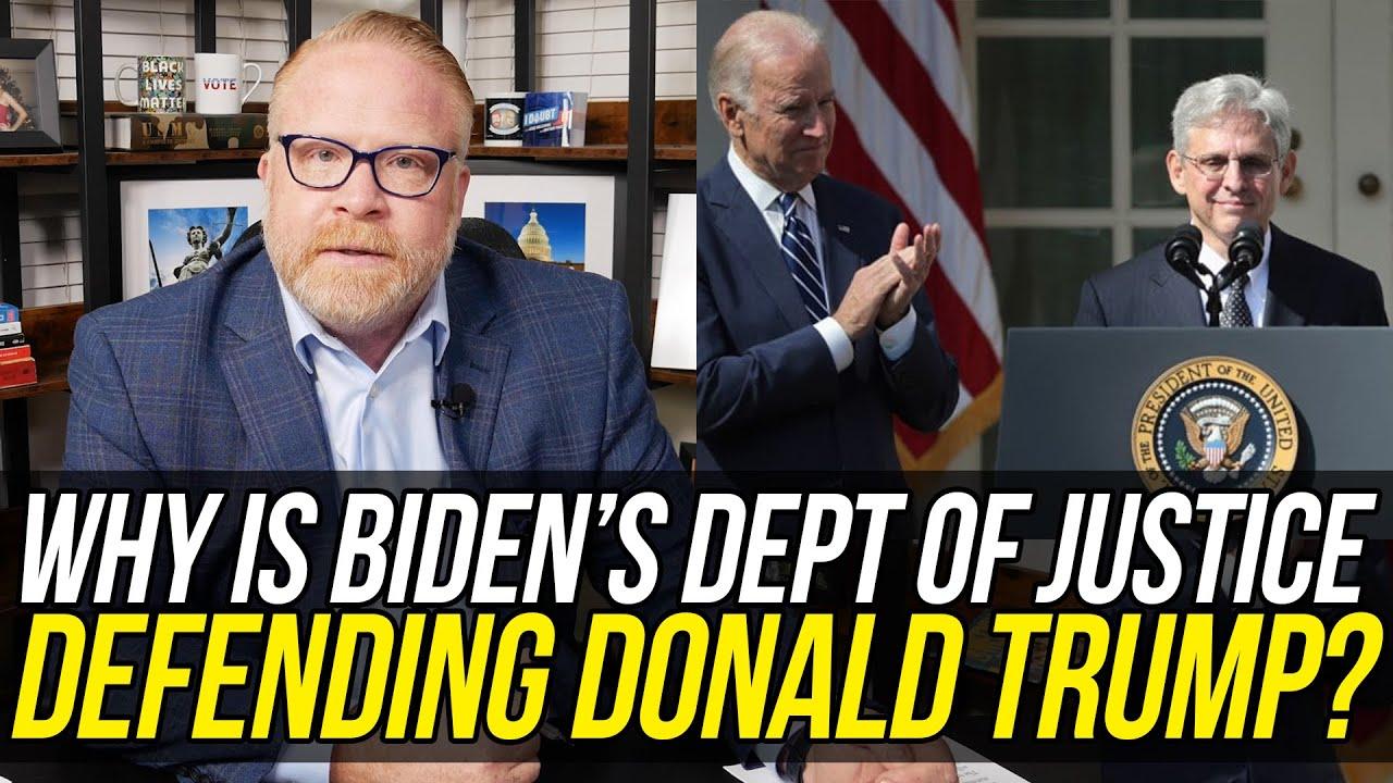 SHAMEFUL!!! Joe Biden's Department of Justice is Defending Trump in Court!