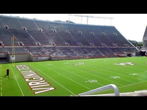 Tour of Lane Stadium at Virginia Tech