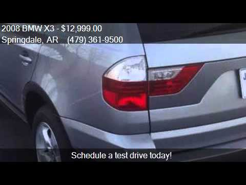 2008 BMW X3 3.0si AWD 4dr SUV for sale in Springdale, AR 727
