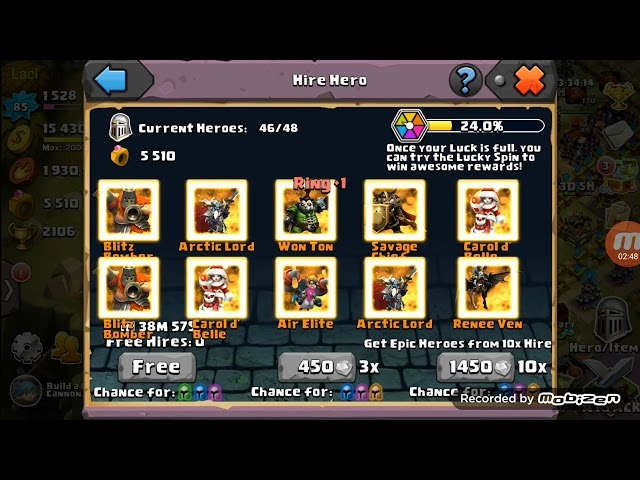 Clash of lords 2 - got 10 epic heroes -