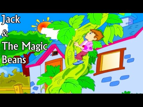 Jack & The Magic Beans -Short Story For Kids