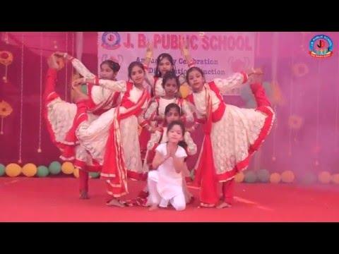 Divine Woman - Tu hi tu (Dance) - J. B. PUBLIC SCHOOL