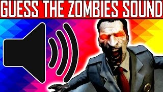 CAN YOU GUESS THE ZOMBIES SOUND?? Zombies Sound Quiz #3 | w/ TheSmithPlays