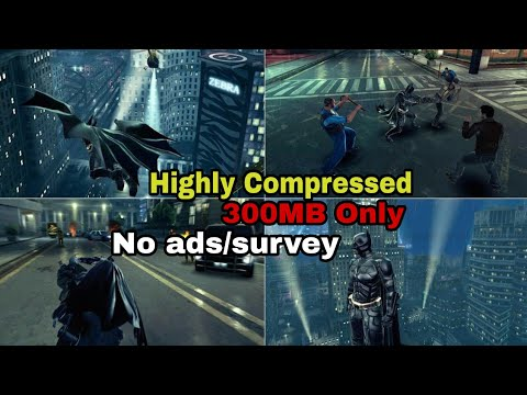 The Dark Knight Rises Highly Compressed For Android | apk+data | Gameplay  Proof | Hindi by DRASH GAMING